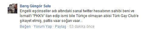Barış Sulu Facebook
