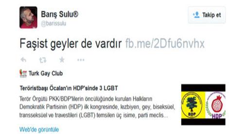 Barış Sulu'nun Twitter'daki Paylaşımı